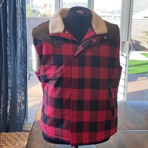 Other - Men's plaid vest